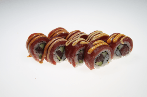 Foto Soft Shell Spicey Tuna Roll